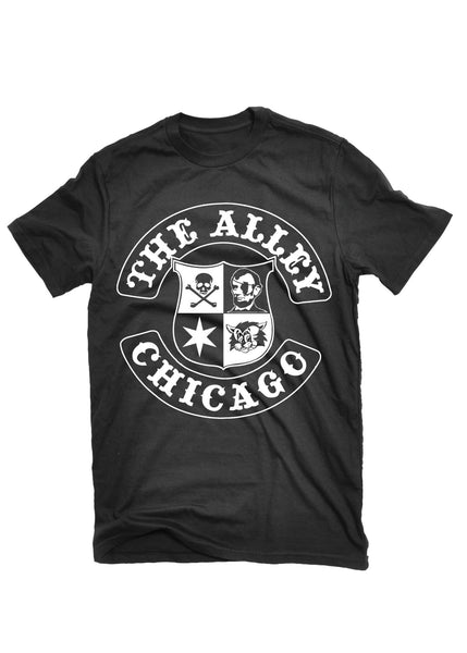 T-Shirts - The Alley Chicago Lincoln Alley Logo T- Shirt
