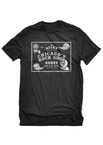 T-Shirts - The Alley Chicago Planchette Writing Spirit Board T-shirt