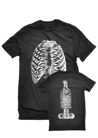 T-Shirts - The Alley Chicago Rib And Spine T-Shirt