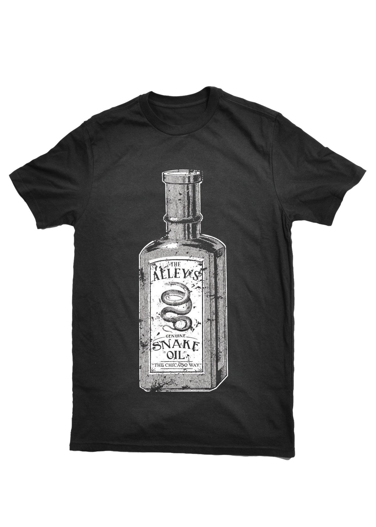 T-Shirts - The Alley Chicago Snake Oil  T- Shirt