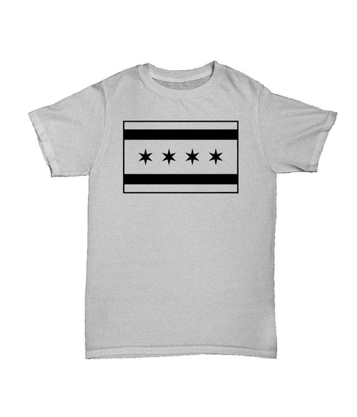 T-Shirts - The Alley Chicago Tactical Flag White T-shirt