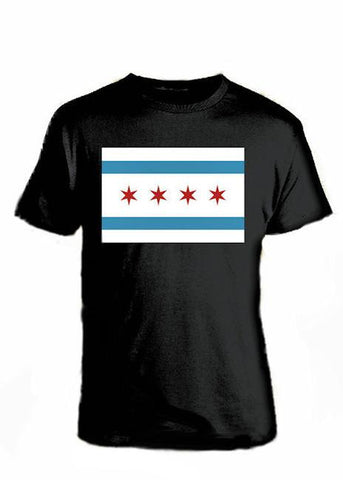 T-Shirts - The Chicago Flag T-shirt