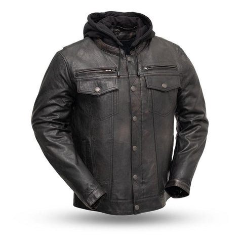 Vendetta mens leather jacket