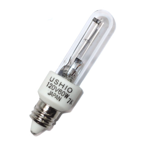1000982 Ushio JCV120V-60WGSN/E11/INC Halogen Quartz Stage Photo Lamp