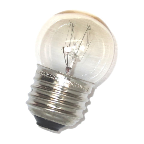13291 GE 15S11/102 120V 15W S11 E26 Clear Incandescent Appliance Lamp