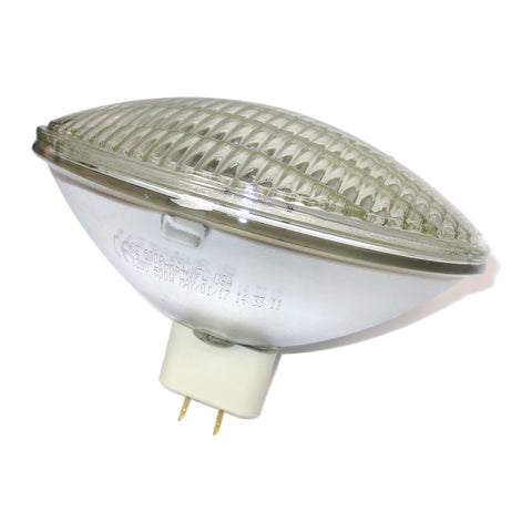 39409 GE 500PAR64/MFL 500W 120V GX16d Medium Flood Stage Lamp