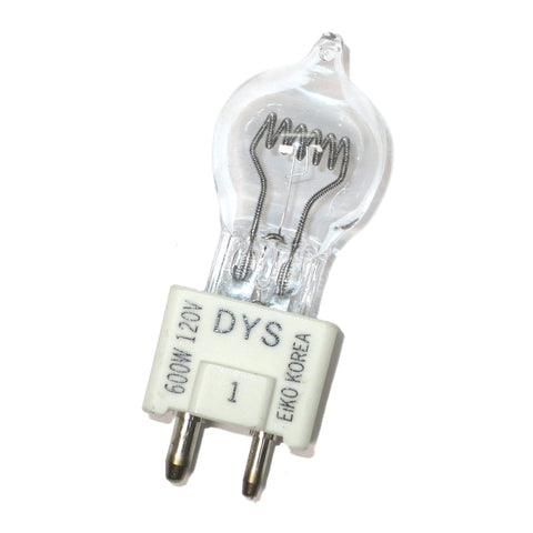 01850 Eiko DYS 600W 120V DYV/BHC Halogen Optic Lamp