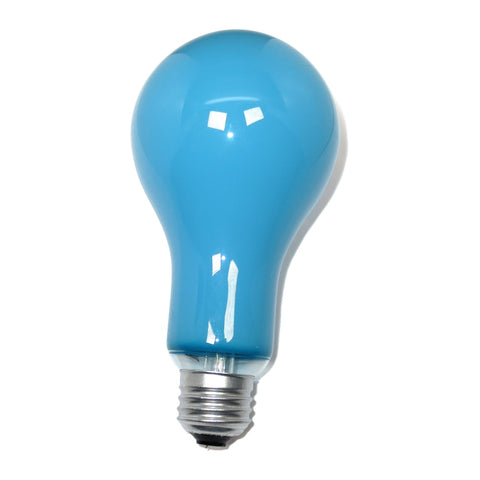 EBW PS25 B2 500W 120V No. 2 Blue E26 Medium Base Incandescent Photoflood Bulb