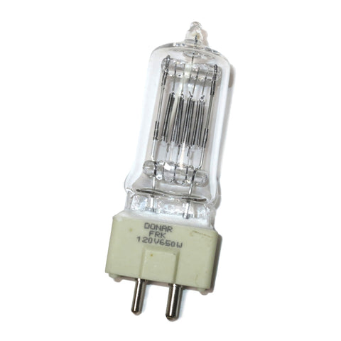 37102 Donar FRK 650W 120V T8 GY9.5 Clear Replacement Halogen Lamp