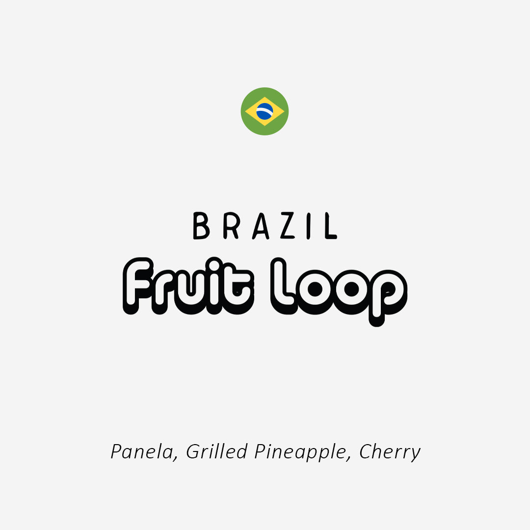 Brazil Fruit Loop Peaberry - 250g/1kg
