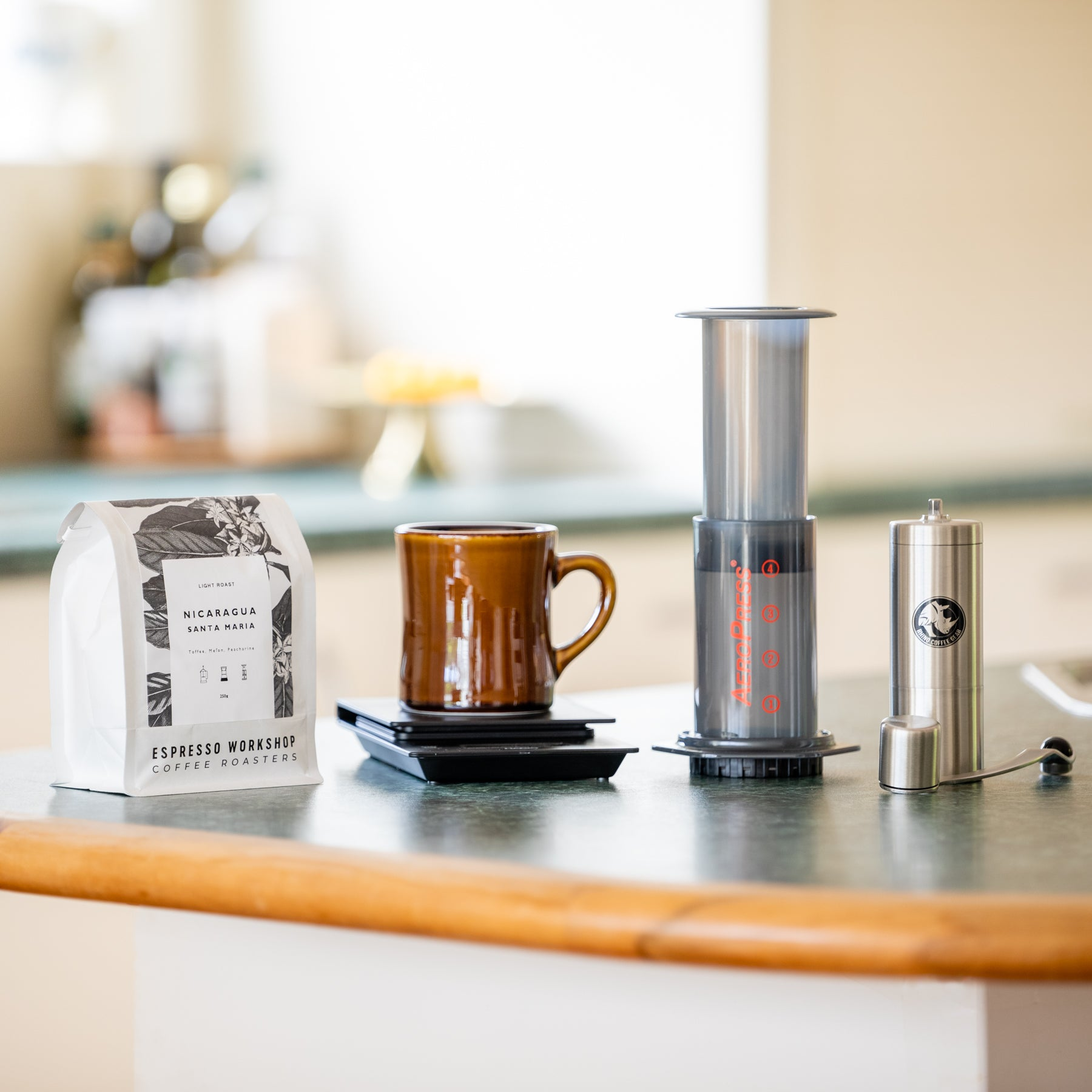 The Aeropress Kit: Espresso Workshop At Home