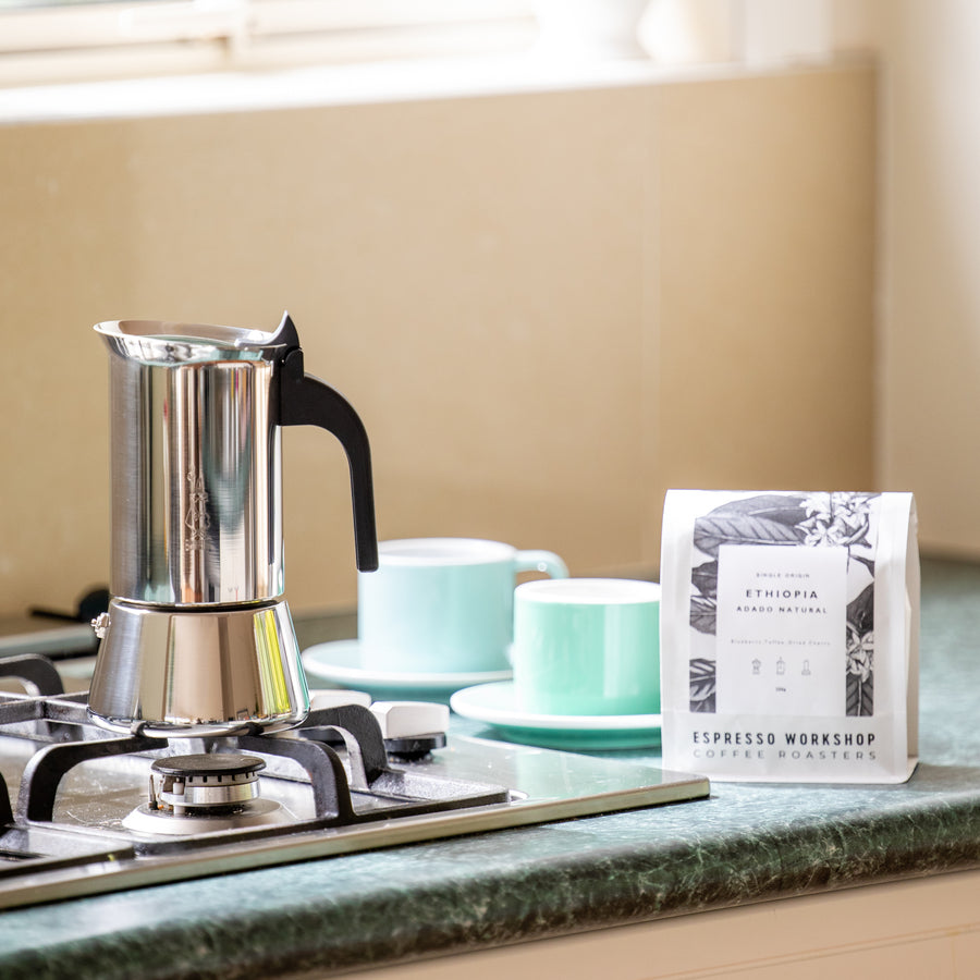 The Stovetop Kit: Espresso Workshop At Home