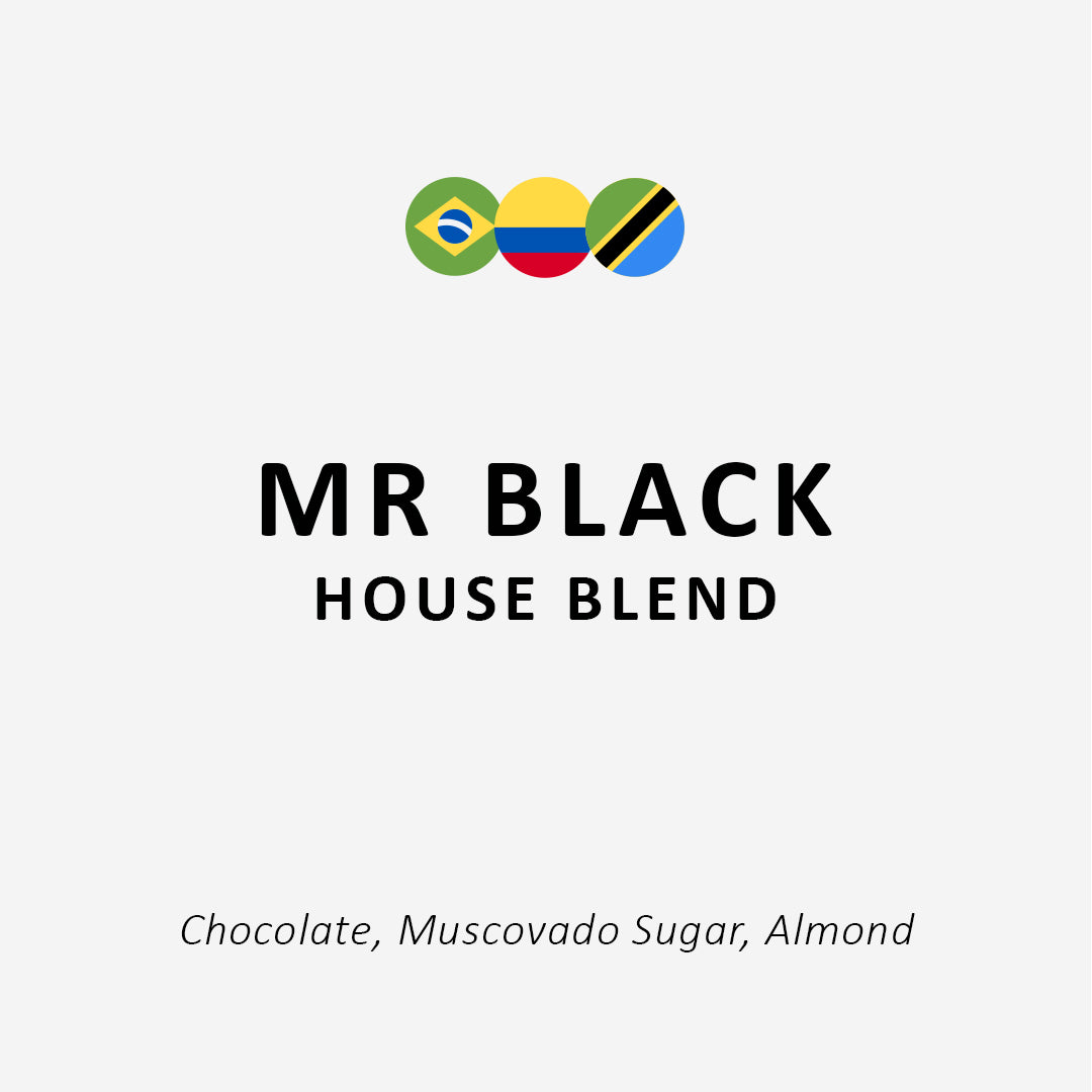 Mr Black - House Blend - 350g / 1kg