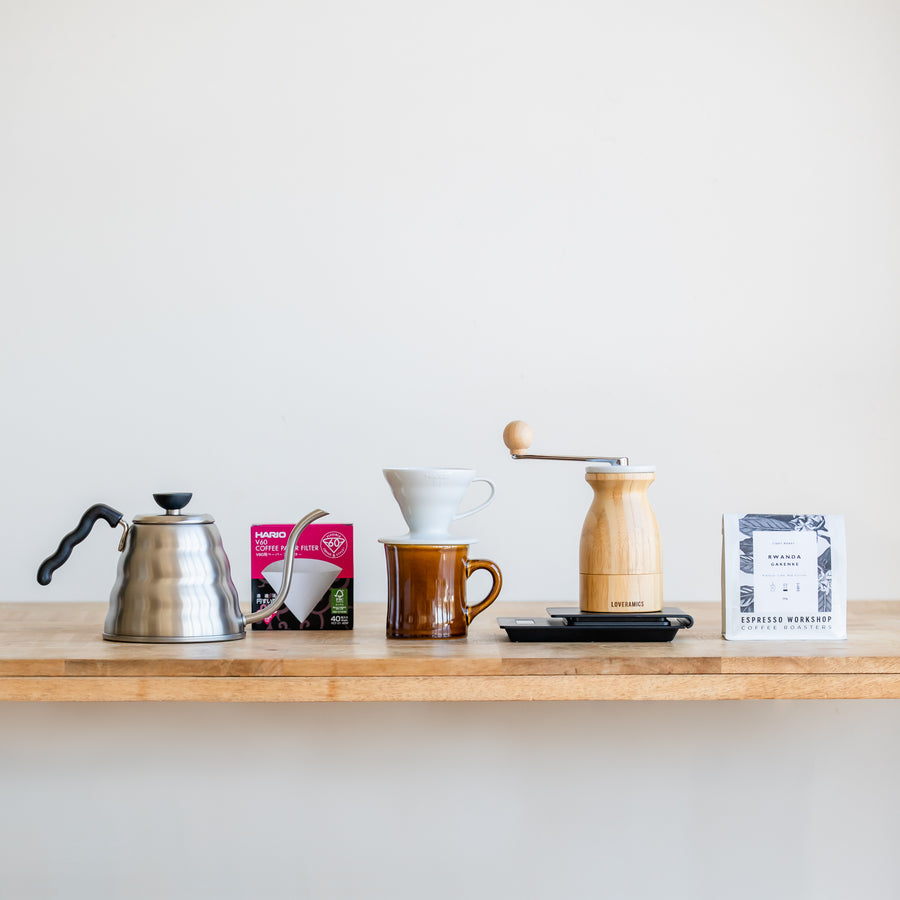 The Pour Over Kit: Espresso Workshop At Home