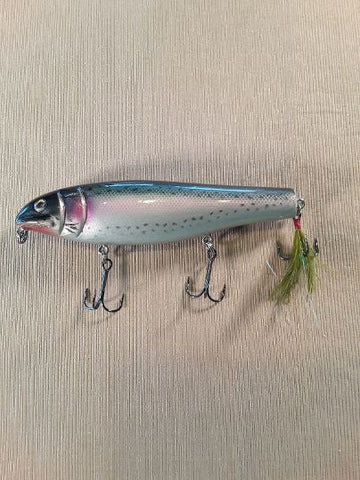 "Black Dog Original 6"" Wood Lunker Punker TROUT"