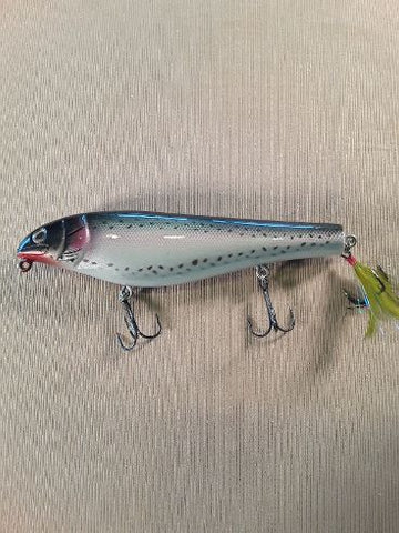 "Black Dog Original 8"" Wood Lunker Punker TROUT"