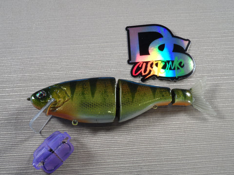DS Customs Wake and Crank Shad PERCH