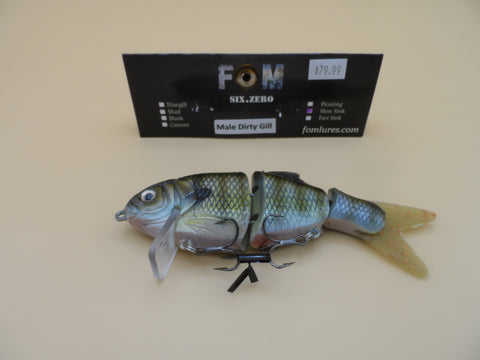FOM Lures Six.Zero SS MALE DIRTY GILL