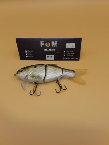 FOM LURES Six-Zero Slow Sink SHAD