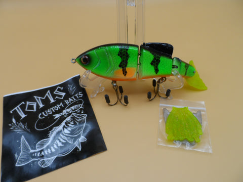 TOM'S CUSTOM BAITS 6 INCH