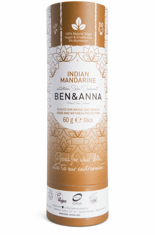 Deodorant natural – Indian Mandarine