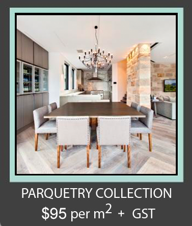 4. Aged Oak Parquetry Collection $95.00 + GST per m2