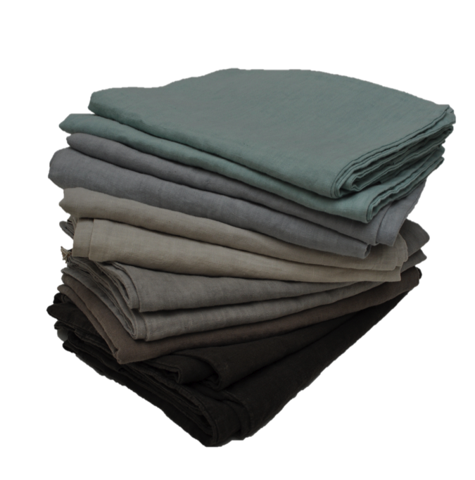Washed Pure Linen Fitted Sheet