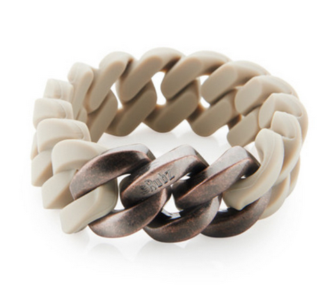 The Rubz Bracelet Desert Sand & Antique Rose Gold 20mm