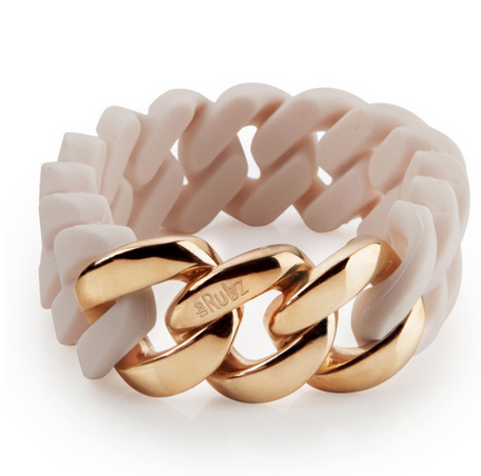 The Rubz Bracelet Winter Rose & Rose Gold 20mm