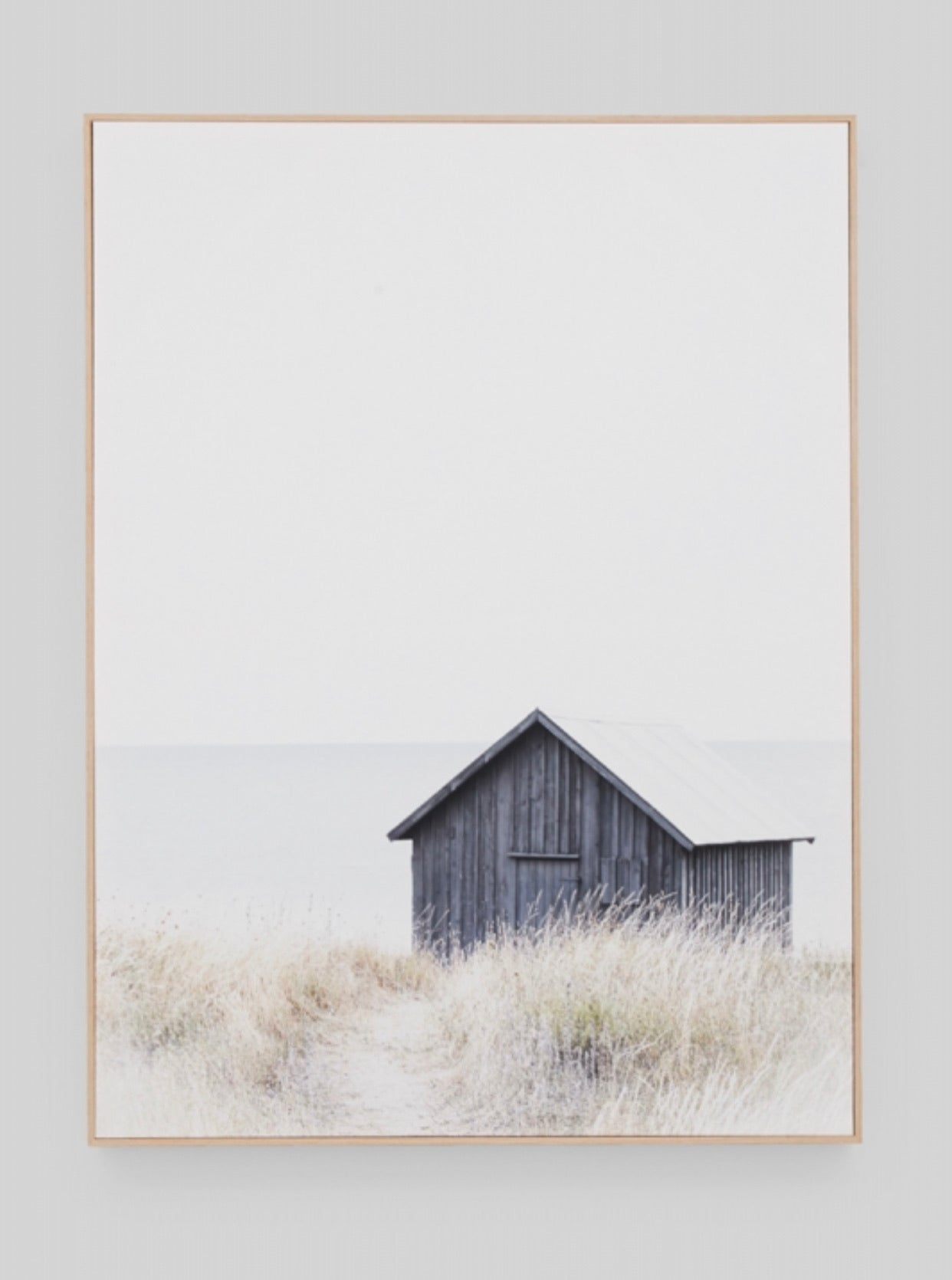 Nordic Boathouse Canvas Print