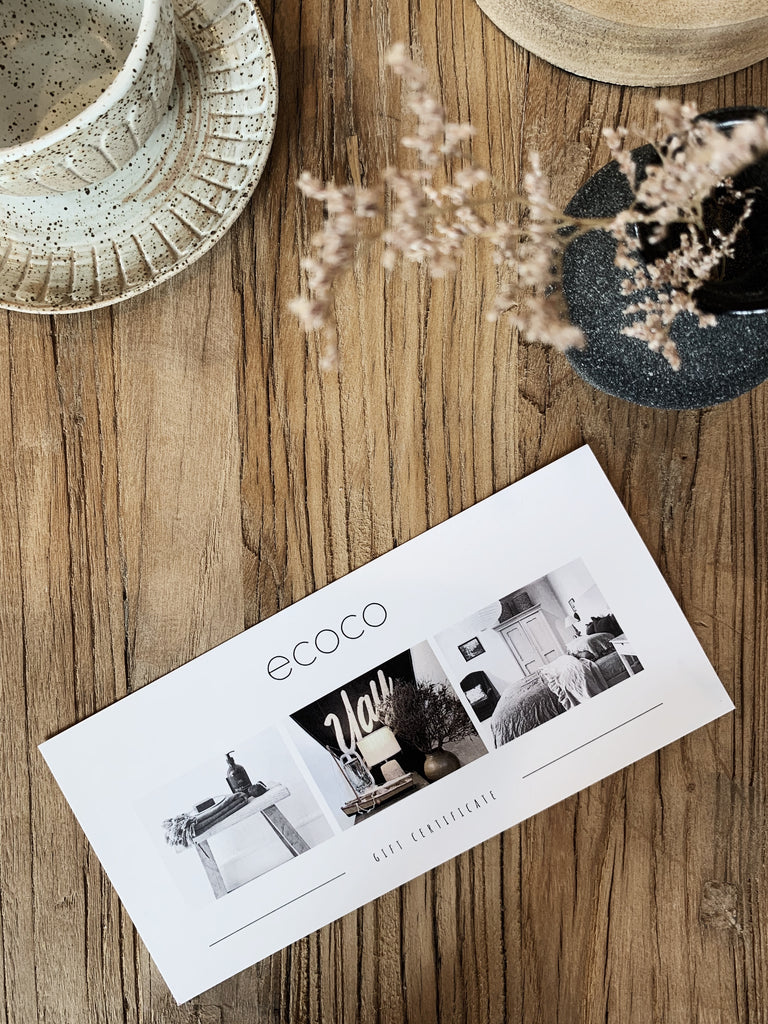 ecoco gift certificate