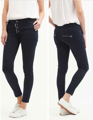 Classic Button Fly Jeans - Indigo