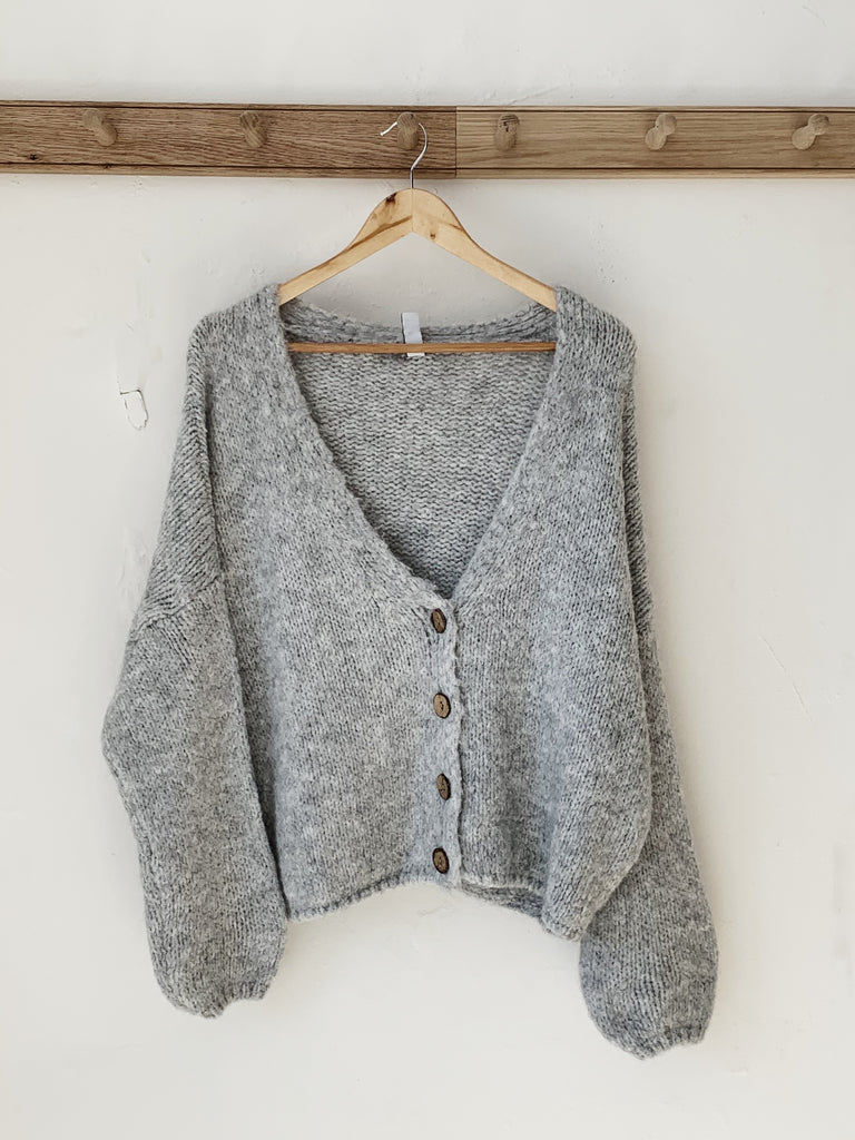 April Cardi - Grey