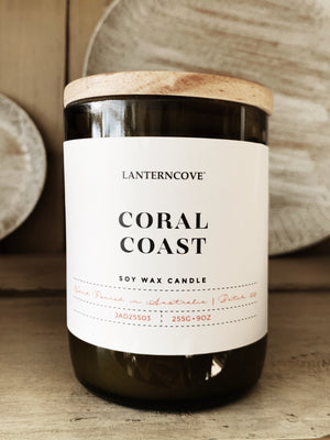 Coral Coast Scented Candle