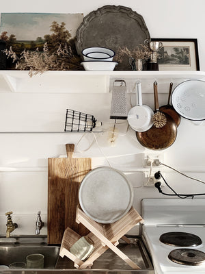 Timber Dish Rack