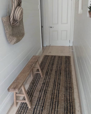 Stripe Jute Runner