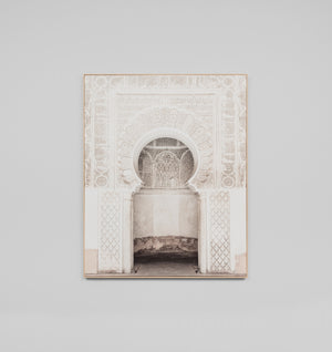 Moroccan Doorway Box Framed Canvas