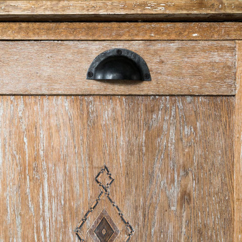 Galley Drawer Pull - Black