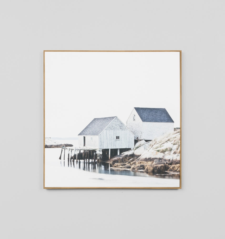 Winter Tide Box Framed Canvas