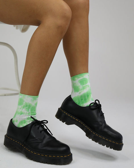 Cotton Rib Socks Jello Tie Dye