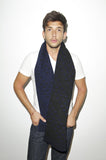 TABERNACLE SCARF - Black Navy