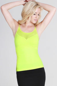 Fishnet Detail Cami