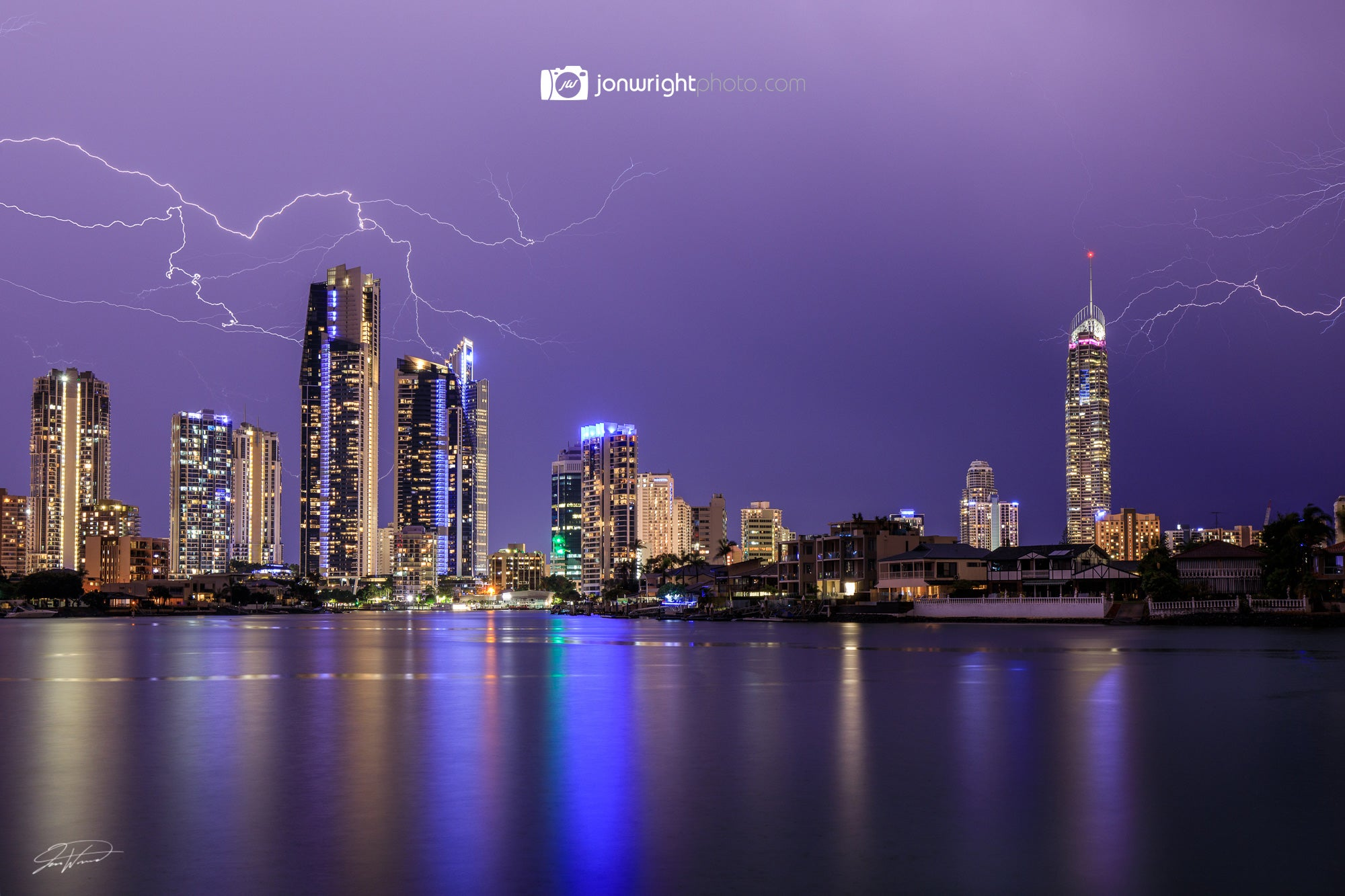Storms hit the Gold Coast and Brisbane