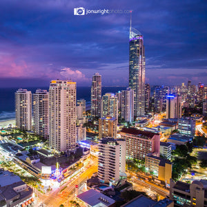 The city is my church - Surfers Paradise