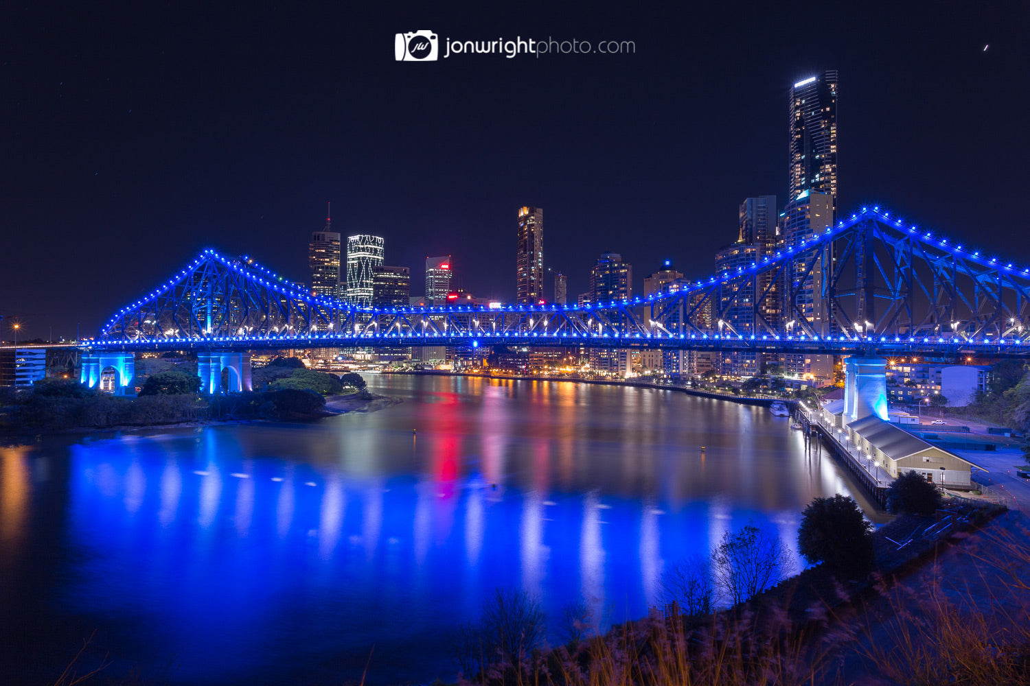 Brisbane City Story Bridge Wall Art and Canvas