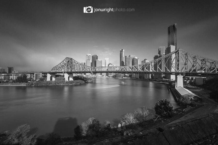 Brisbane City fog
