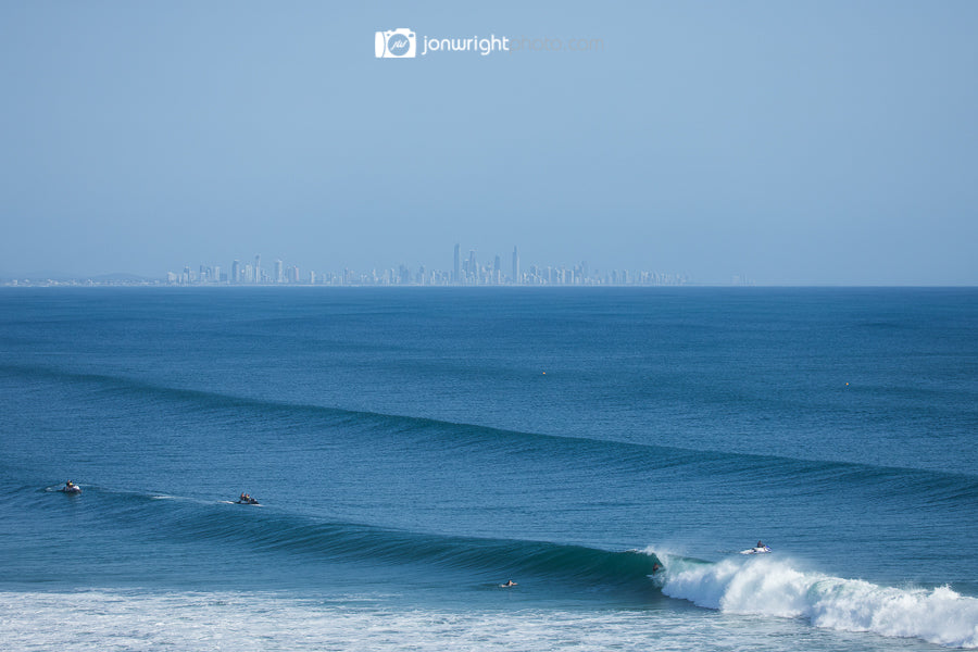 Kirra to Surfers Paradise - Cyclone Gita surf photography 2018