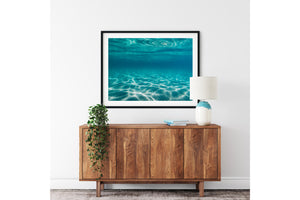 Wall Art Prints water aqua