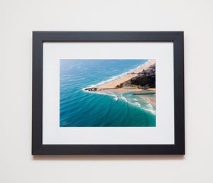 Classic black frame with black mat