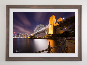 Sydney Harbour Night - Sydney, NSW Australia